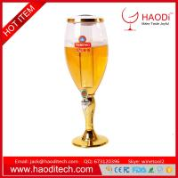 Buy cheap Liquid Drink Mini Bar Accessories Portable Beer Tower Aerator 2L With Color Led from wholesalers