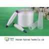 China RW Polyester Raw White Yarn , Core Spun Polyester Spun Sewing Thread 40/2 50/2 60/2 wholesale