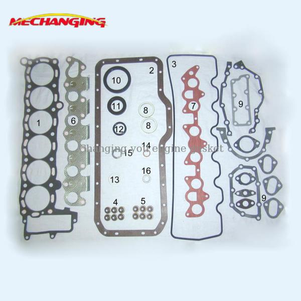 Quality For TOYOTA MARK 2 OR CELICA 5MEU 5M Automotive Spare Parts Engine Rebuilding Kits Full Set Engine Gasket 04111-43010 for sale