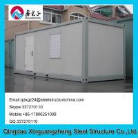 China Sandwich panel frame flat pack living container house with one window wholesale
