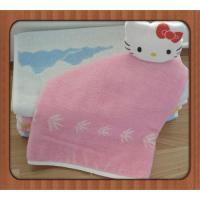 China comfortable superfine bamboo cotton mixed face towel/square towel on sale wholesale