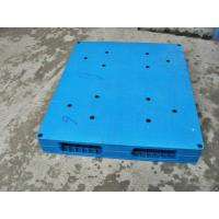 China Welded / Integrated Solid Face Plastic Euro Pallets For Food Storage wholesale