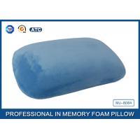 Blue Crystal Velvet Relaxation Memory Foam Sleep Pillow Or Nap Pillow
