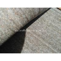 China Waterproof Grey Magnificent Rubber Sheet Roll 15 - 50mm Thickness , Easy To Install on sale