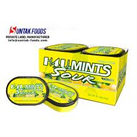 China Low Calorie Inulin Sour Lemon Candy For Promote Digestion Vitamin C Ingredient wholesale