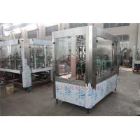 China Ss Beer Bottle Filling Machine / Juice Canning Aluminum / Pet Can Filling Machine wholesale