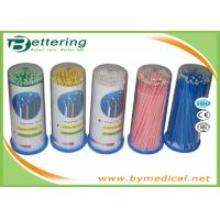 China Disposable Plastic Dental Supplies Dental Micro Brush Oral Applicator For Teeth Care wholesale