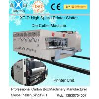 China Auto Fold Carton Sealing Machine With Ceramic Anilox Roller And Stacker wholesale