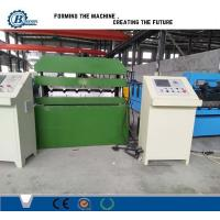 China Steel Trapezoidal Profile Metal Roofing Roll Forming Machine With 3 Stands Rollers wholesale