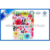A6 PVC Cover Spiral Kraft blank paper notebook For Students With EN71