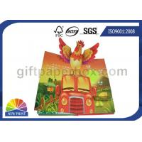 China Custom Pop Up Book Printing Services / Children Reading Book Printing for 3D Book wholesale