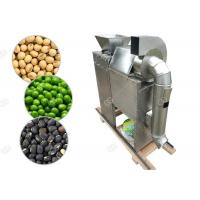 China Dry Type Nuts Roasting Machine Soybean Green Peas Peeling And Splitting Machine wholesale