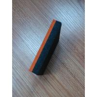 Buy cheap EPDM surface+ black basement two layer rubber tiles from wholesalers