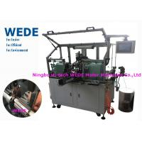 China Even - Odd Slots Armature Winding Machine With Riser Type Collector Commutator wholesale