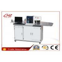 China High Precision Stainless Steel Channel Letter Bender Machine With 4 Controlled Axis wholesale