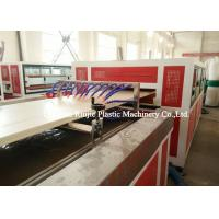 China Plastic Pvc Door Manufacturing Machine Saw Blade Cutting With PLC Control System wholesale