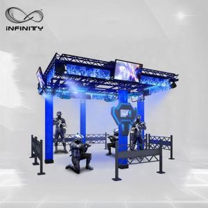China 9D Multiplayer Virtual Reality Walking Platform / VR Walking Simulator wholesale