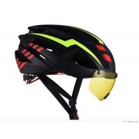 China 25 Air Cooling Vents Road Bicycle Helmet With Glasses Soft And Washable Lining wholesale