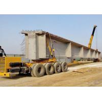 China Reliable Crane Spare Parts , Multi Axle Tyre Trolley Transporting Girder Vehicle wholesale