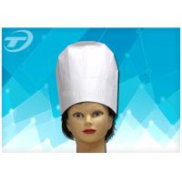 China High Uniformity Disposable Chef Caps / Comfortable Medical Head Cap wholesale
