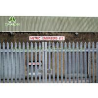 Brand 65mm D Type Stainless Steel Palisade FencingCorrosion Resistant For Schools