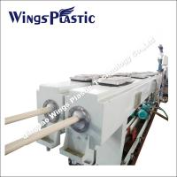 China PVC Conduit Pipe Making Machine 16-40mm , Electrical Conduit System PVC Duct Extrusion Line wholesale