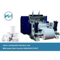 China Single layer fax paper/cash register/medical report paper/thermal paper slitting machine on sale