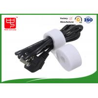 China Hook loop Double Sided hook and loop Roll for Computer cord wrap , 25m / roll wholesale