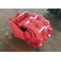 Quality Replaceable Pick Up Joint Compaction / Compactor Wheel For Excavator Step Design for sale