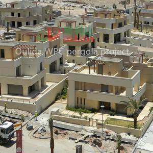 China Customized villa Pergola construction project Environmental Friendly in Jordan Marsa-Zayed construction wholesale