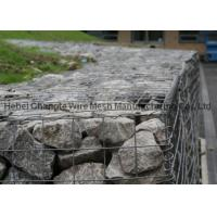 China Heavily Galvanized Welded Gabion Box Good Tensile Strength For Retaining Wall wholesale