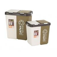Buy cheap Recycling Plastic Molded Products , Indoor Colorful Trash Can With Lid from wholesalers