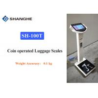 China Smart Connected Electronic Luggage Scale , Multi Languages Heavy Duty Luggage Scale wholesale