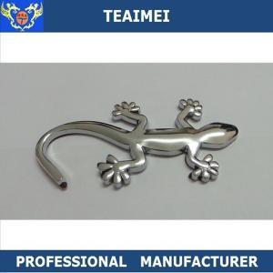 China Wall Lizard Sticker Auto Names And Logos Custom Vehicle Emblems wholesale