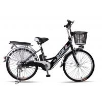 China 48V Womens Hybrid City Lithium Bicycle , Electric Assisted Bicycle With Electric Motor wholesale