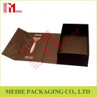 Buy cheap Cardboard paper emtry pacakging box magnetic closure gift box add your own logo from wholesalers