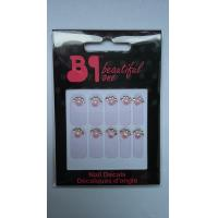 China Jewellery  halloween nail decal / Diamonds nail decal for ladies wholesale