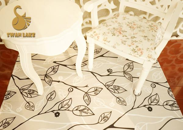 Quality Customized Modern Non Slip Area Rugs / Non Slip Kitchen Floor Mats Dry Quickly for sale