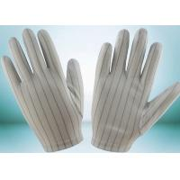 China Clean Room ESD Disposable Gloves , Static Proof Gloves High Durability wholesale