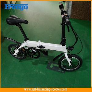 China セリウムFccの証明の折り畳み式の電気倍力バイクは座席を持つ女の子のためのスクーターにモーターを備えました wholesale