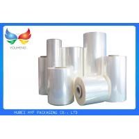 China 35 Mic Clear Soft Pvc Shrink Film Rolls, Heat Shrink Wrap Film With Blow Molding wholesale