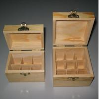 China Wooden gift box, esstential oil bottle wood packing box, custom desgin is welcomed wholesale