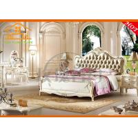 exotic oversized  expensive solid wood french antique white jordans classic bedroom furniture set for adults karachi