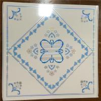 China Plastic Suspended Ceiling Tiles , Pvc Decorative Ceiling Tiles Sound Proof on sale
