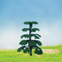 China MODEL TREE with leaf Plastic green ,GT21 H:47-127mm wholesale