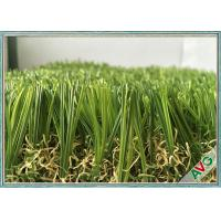 China Abrasion Resistance Hotel Artificial Turf 35MM Height No Glare Outdoor Fake Grass wholesale