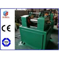 China 6 Inch XK-160 Rubber Mixing Mill Machine With Hardened Gear Reducer One Year Warranty on sale