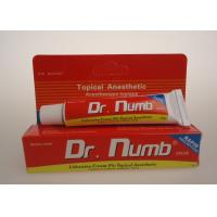 5% Lidocaine Dr. Numb Pain Relief Topical Pain Tattoo Anesthetic Cream