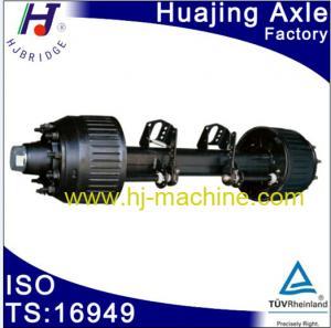 China HJ identify used 16T trailer axle for semi-trailer wholesale