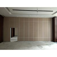 China Soundproof Acoustic Wall Partitions / Operable Sliding Wall Dividers In United States wholesale